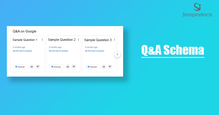 Question and Answer Schema - knowledge graph - Sharp Instincts