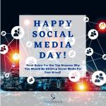 happy social media day